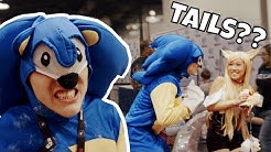Sonic Looks For Tails At WonderCon