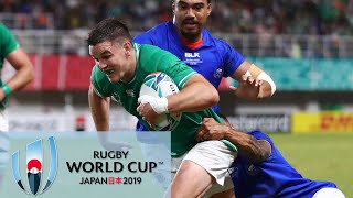 Rugby World Cup 2019: Ireland vs. Samoa   EXTENDED HIGHLIGHTS   10/12/19   NBC Sports