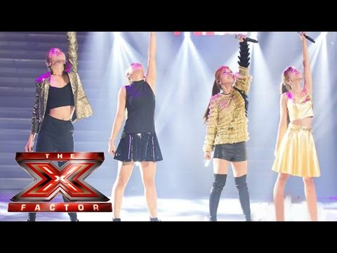 4th Impact sings Work it Out | Live Week 3 | The X Factor UK 2015