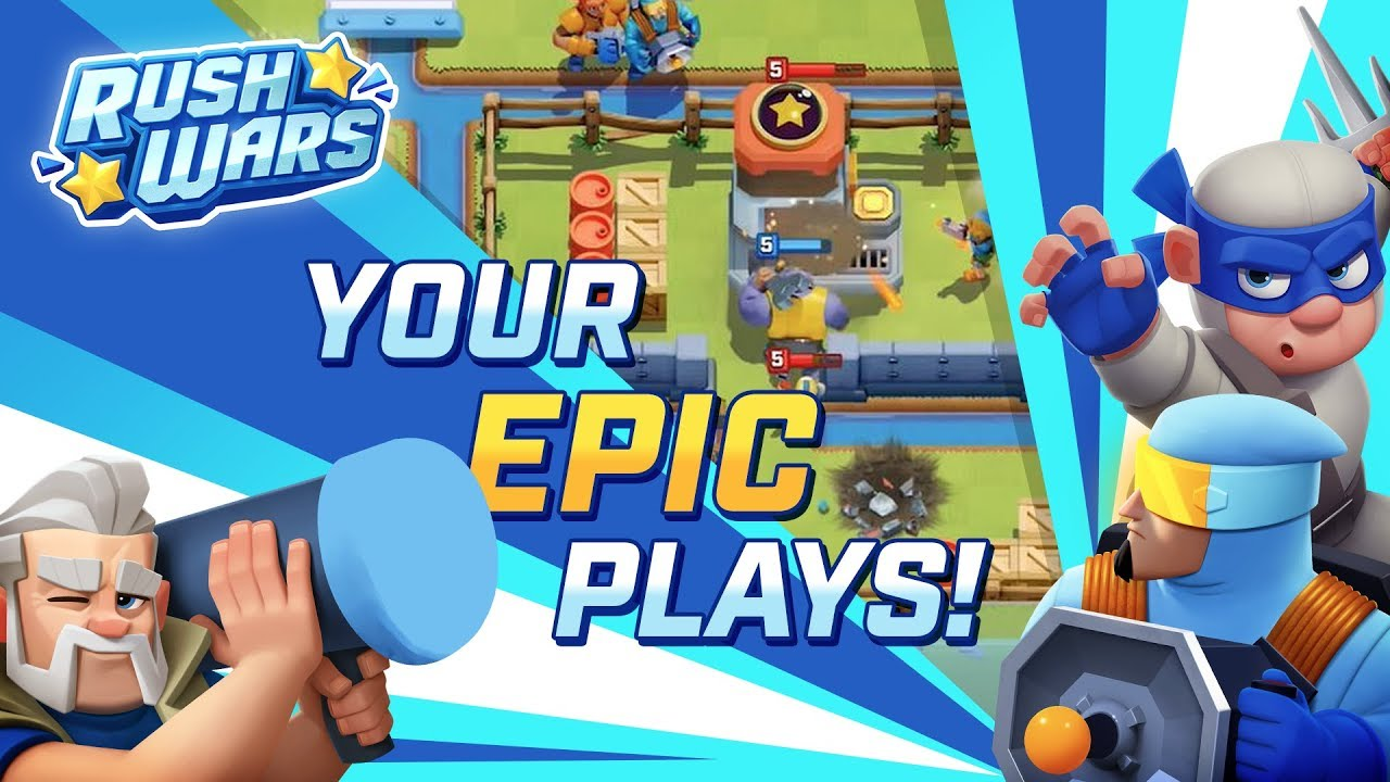 Rush Wars - Epic Community Plays #2