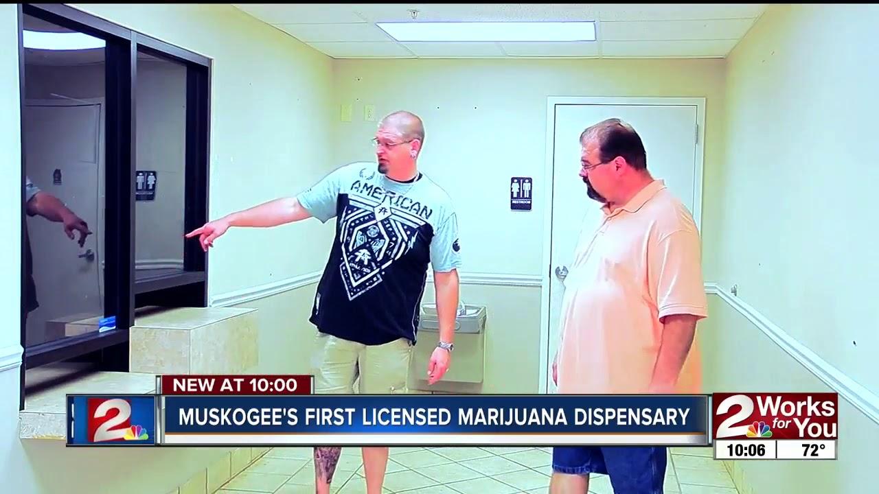 Muskogee's first licensed marijuana dispensary