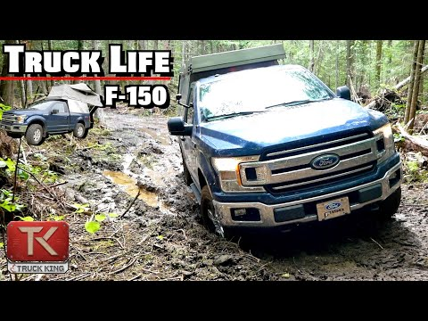 This Rare 2018 Ford F-150 Battles Through THICK Mud - Check Out This Sweet Overlanding Tent Setup!