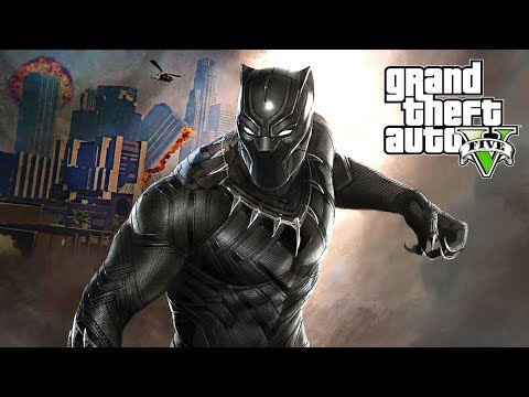 BLACK PANTHER GTA 5 MOD!!! (GTA V Mod Gameplay)