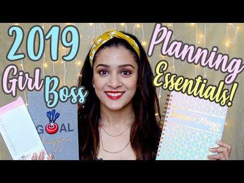2019 GIRLBOSS PLANNING ESSENTIALS FOR A SUCCESSFUL YEAR | ARTCHETYPE 2019 PLANNER REVIEW Mp3