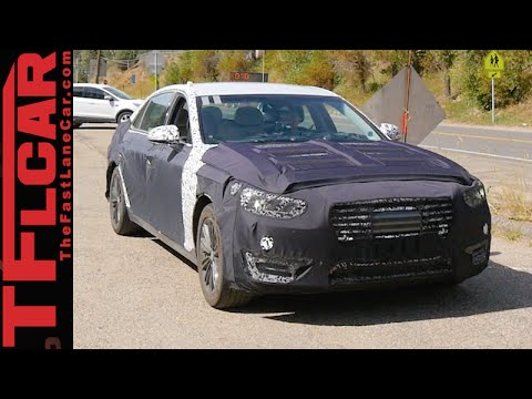 Is this the 2017 Hyundai Equus Spied in the Wild
