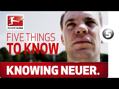 The World's Greatest - 5 Things To Know About Manuel Neuer
