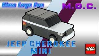 How to build (make) LEGO Jeep Cherokee mini #72  - Как собрать Jeep Cherokee мини из Лего Самоделка