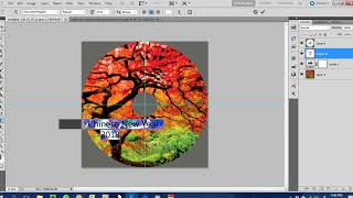 Basic feature you need to know in photoshop to edit CD/DVD label design or cover