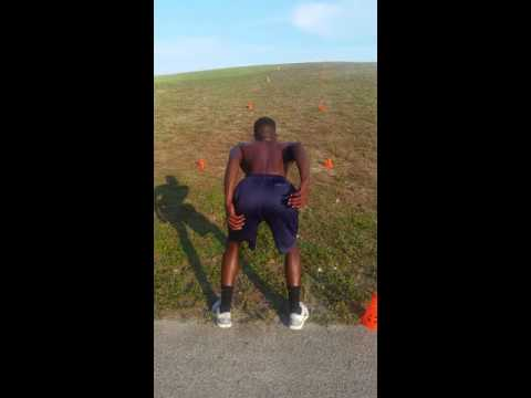 Watch MGX Tyrese Cooper Train To Be Great Hill Work Jumps!