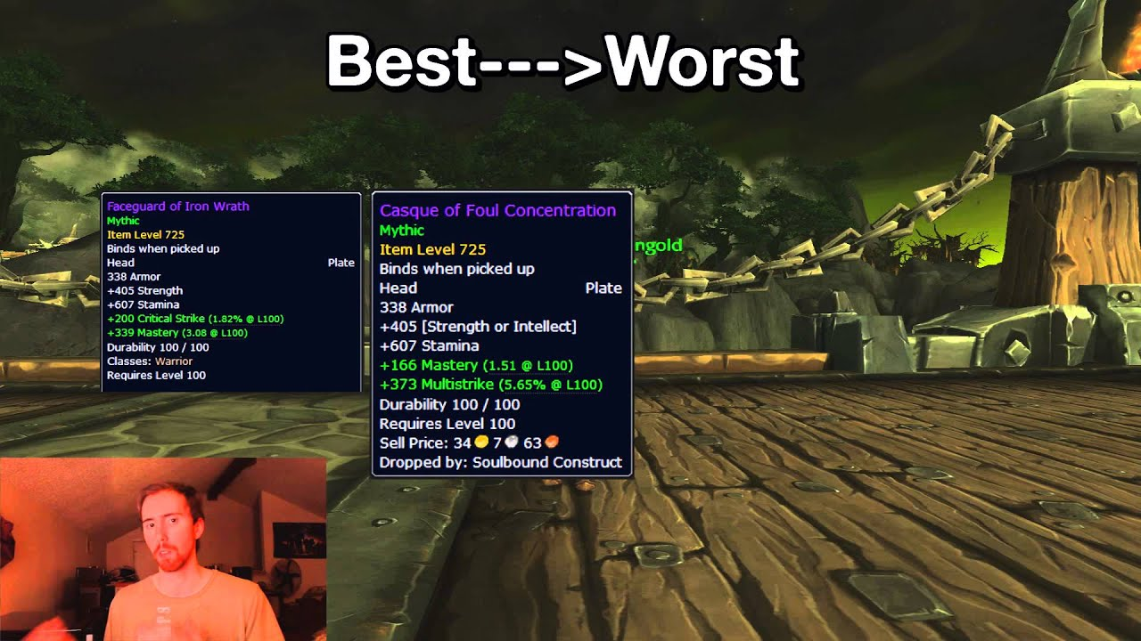 Warrior best in slot rift