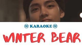 Winter Bear - BTS ( V) | karaoke, instrumental
