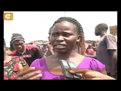 Traders protest eviction from no-man's land on the Kenya-Uganda border