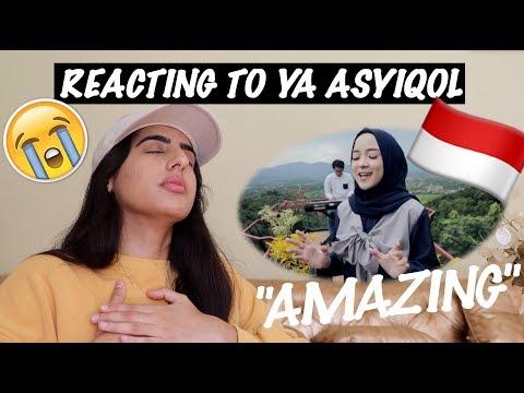 YA ASYIQOL BY SABYAN | REACTION