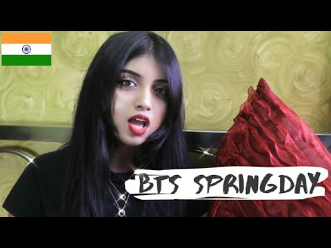 BTS - SPRING DAY (Hindi/Korean/English Cover - Srushti Barlewar)