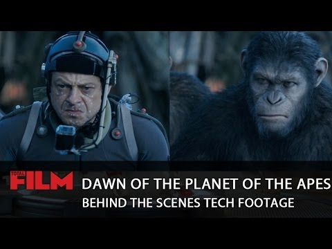 Dawn Of The Planet Of The Apes: behind the scenes CGI motion capture footage