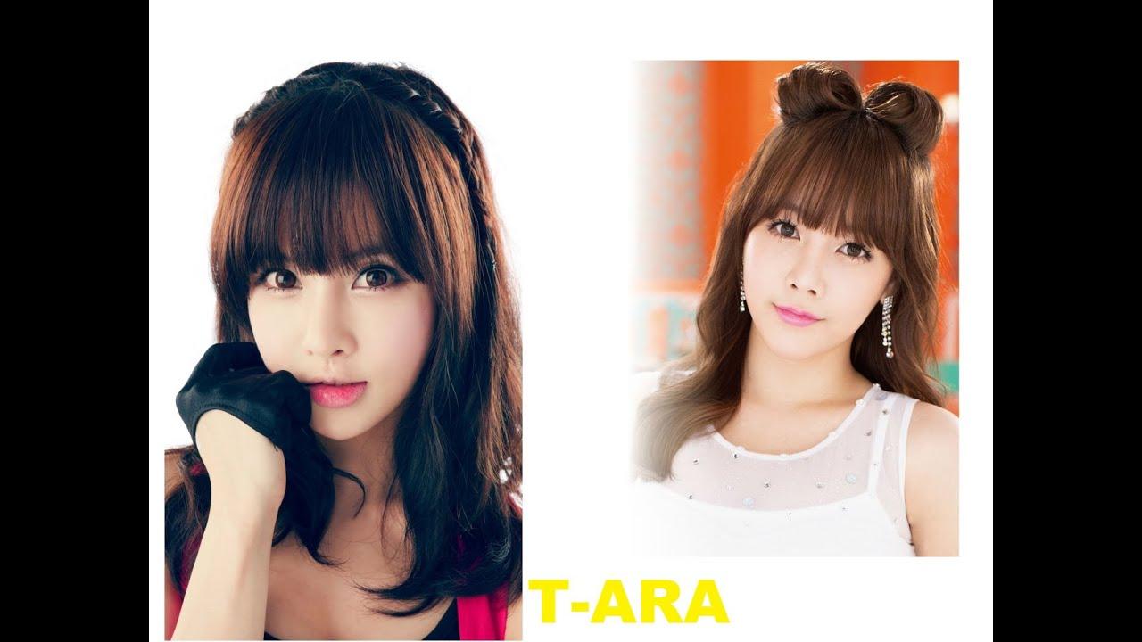 easy kpop hairstyles tutorial - boram and soyeon ( t-ara )