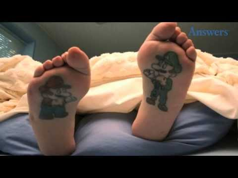 Clever And Bizarre Foot Tattoos That Are Beyond Epic