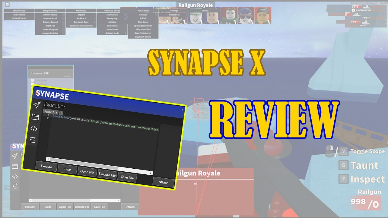 Roblox Synapse Review Synapse X Review Roblox Exploiting Youtube