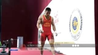 CHEN Lijun 2s 143 kg cat. 62 World Weightlifting Championship 2013