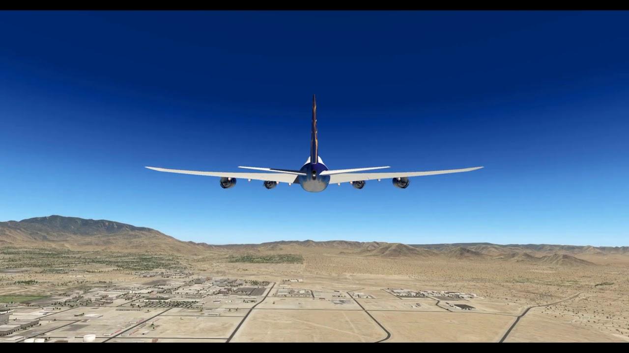 Boeing 747-8F Freighter (SSG) – Albuquerque, NM (KABQ) + Ground Handling  Deluxe Demo – X-Plane 11 05