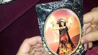 Review - Dark Goddess Oracle Cards & 1 card reading for now