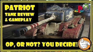 WOT XBOX/PS4 || T26E5 Patriot Review & Gameplay