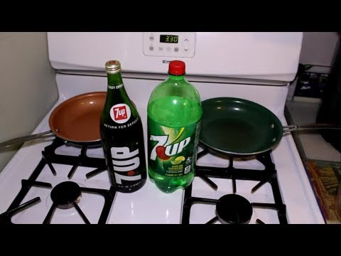 Boiling Down 1970s 7UP Soda, Compare To New