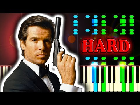 JAMES BOND THEME - Piano Tutorial