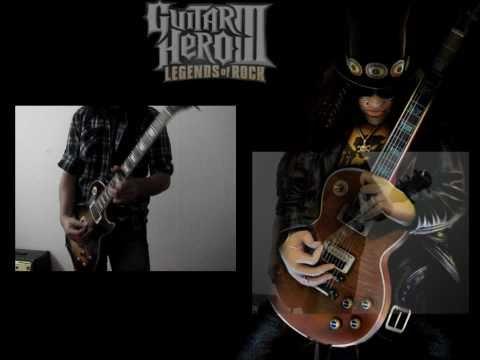 Slash Guitar Battle (real guitar) - Guitar Hero 3