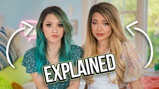 Why we look like this... Twin Sisters DNA Test | Niki and Gabi