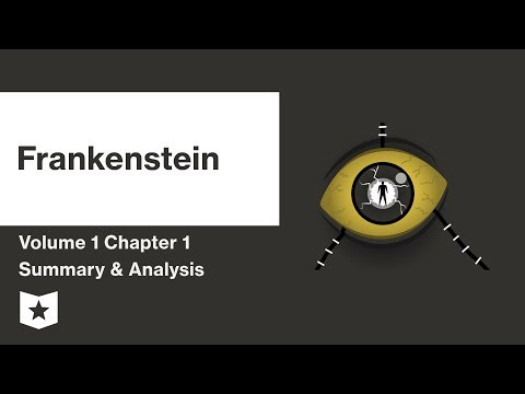 Frankenstein by Mary Shelley | Volume 1: Chapter 1