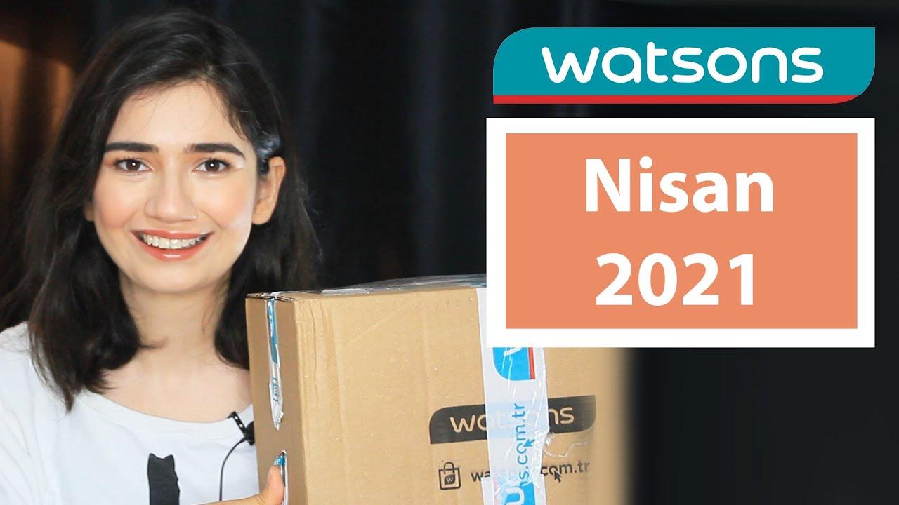 Watsons Sürpriz Kutu Alışverişi - Nisan 2021