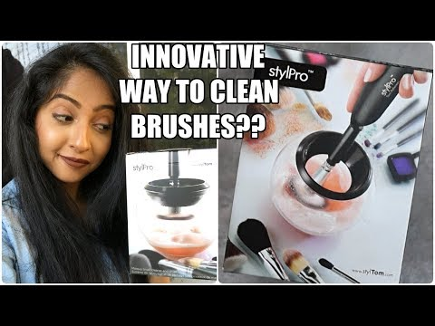 First Impressions: STYLPRO Brush Cleaner & Drier | Stacey Castanha