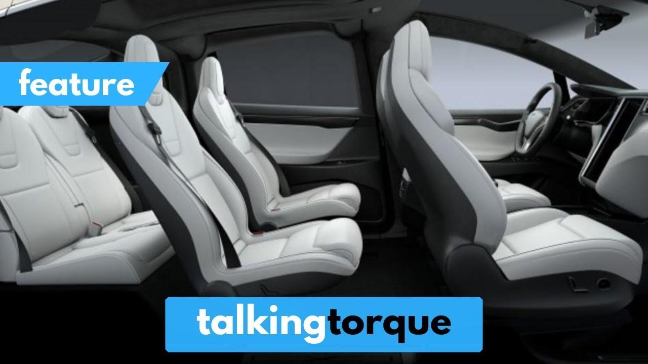 9 Seater Suv >> [4K] Tesla Model X 100D - FULL Interior Tour (6 Seater ...