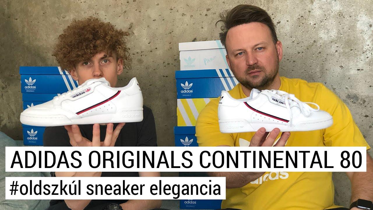 adidas Continental 80 férfi cipő krém