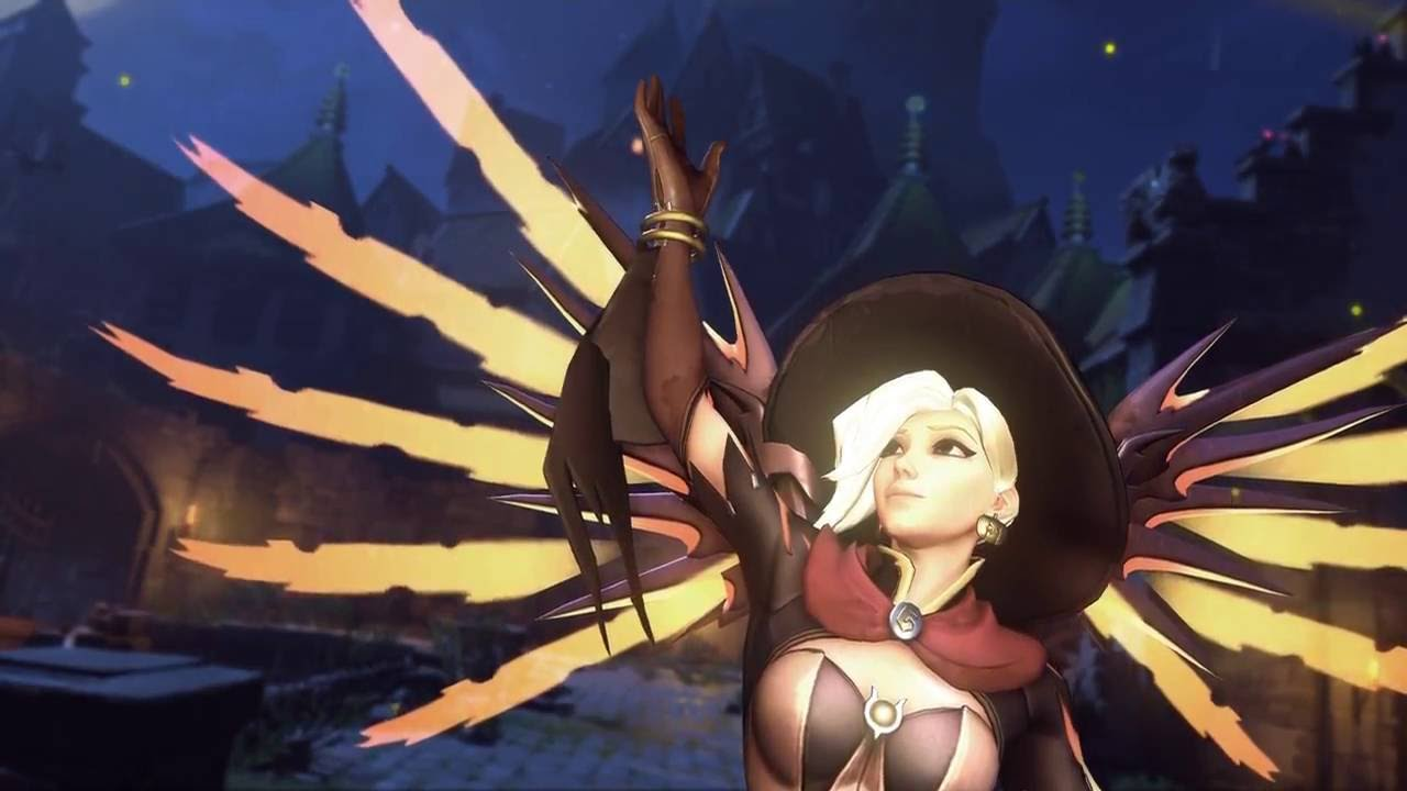 witch mercy highlight intros - youtube