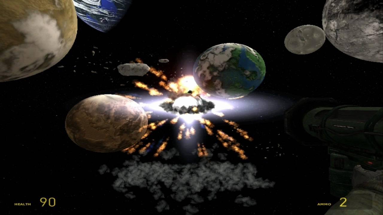 Gmod: Epic Planet Destruction - YouTube