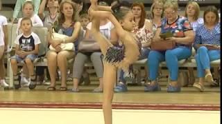 Как воспитывают будущее художественной гимнастики в Самарской области