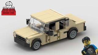 LEGO MOC#30 Russia Lada VAZ-2105 Лего Ла́да АвтоВАЗ