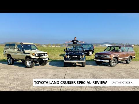 Toyota Land Cruiser Special Review: Offroad-Klassiker und Neuwagen im Fahrbericht