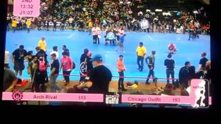 Chicago Outfit Roller Derby at North Central Regionals