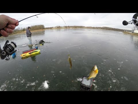 fishing-panfish-on-thin-ice----and-meeting-guys-on-the-interenet