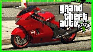 GTA 5 FULL HD SPORT BIKE GAMEPLAY Grand Theft Auto V xbox 360