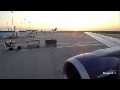 Departure from Jersey Airport, British Airways Boeing B737-436