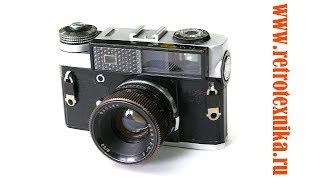 фотоаппарат Киев 5 (ранний выпуск) 1968 год