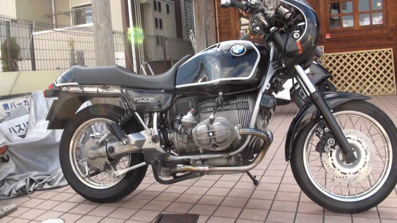 remus 1990 bmw r100r doken special version classic. Black Bedroom Furniture Sets. Home Design Ideas
