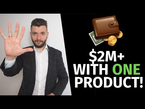 $2,105,312 With One Shopify Dropshipping Product In 2019