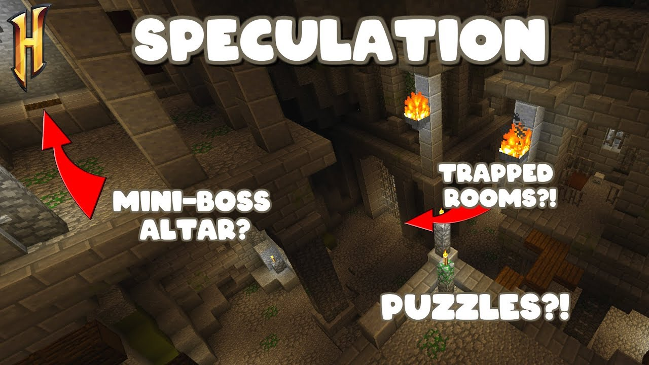 Possible Room And Layout Ideas For Dungeon Update Hypixel Skyblock Speculation 8 Youtube