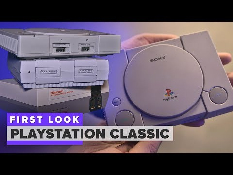 Sony PlayStation Classic first look: It's good, but not great