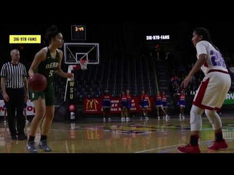 Derby girls basketball vs. Wichita South  at Koch Arena